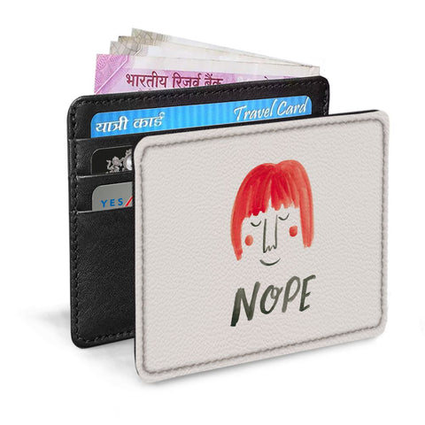 Red Hair Card Sleeve