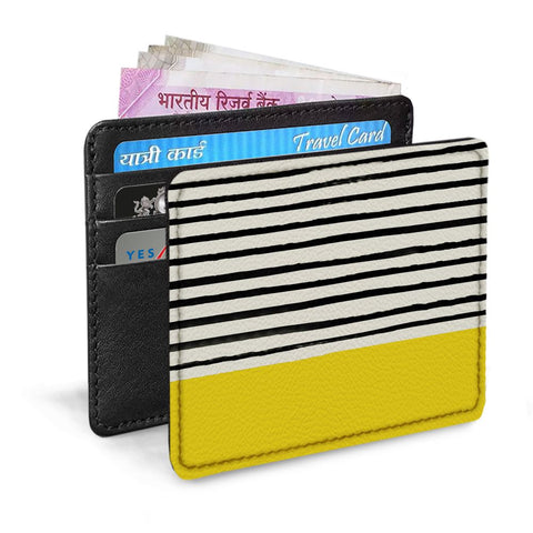 Stripes Design Card Sleeve