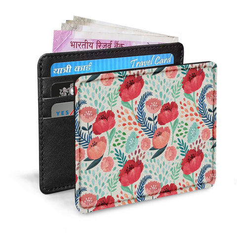 Red Flowers Card Sleeve