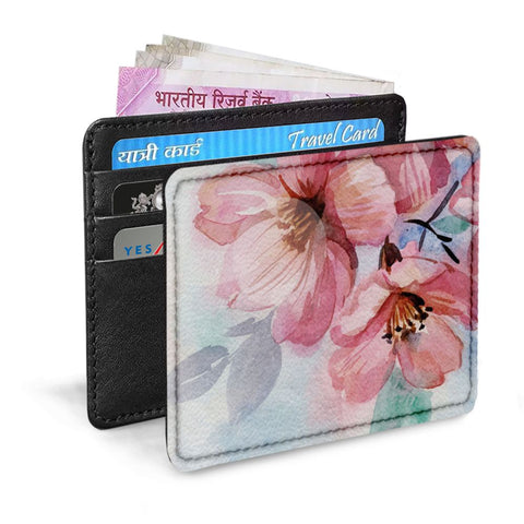 Pinkish Flowers Card Sleeve