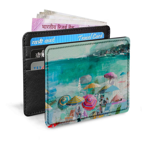 Wow Beach Card Sleeve
