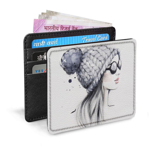 Sizzling Girl Card Sleeve