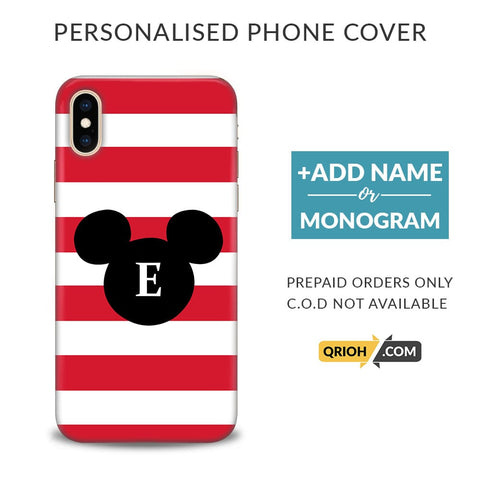 Mickey Custom Phone Cover - COD Not Available