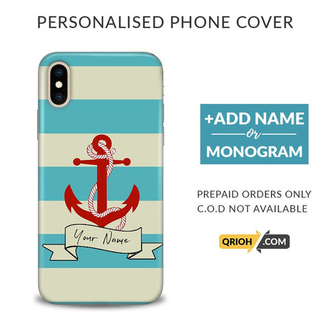 Anchor Custom Phone Cover - COD Not Available