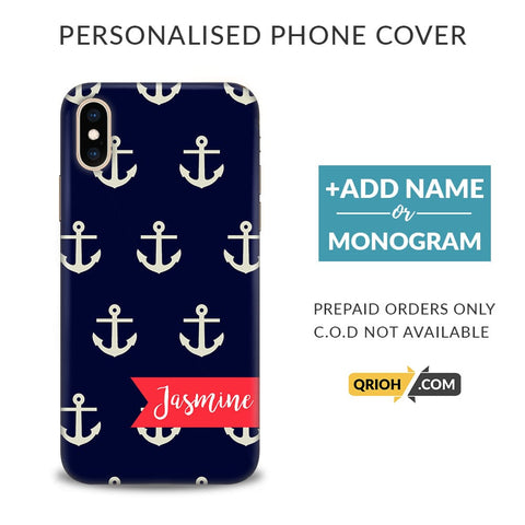 Pattern Custom Phone Cover - COD Not Available