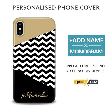 Chevron Custom Phone Cover - COD Not Available