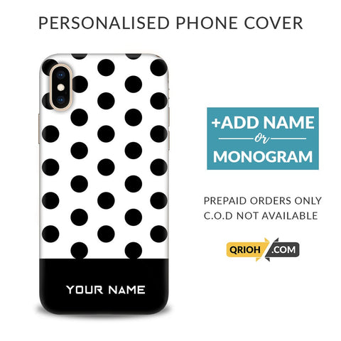 Dots Custom Phone Cover - COD Not Available