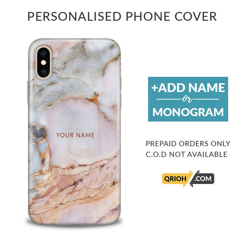 Italian Marble Custom Phone Cover - COD Not Available