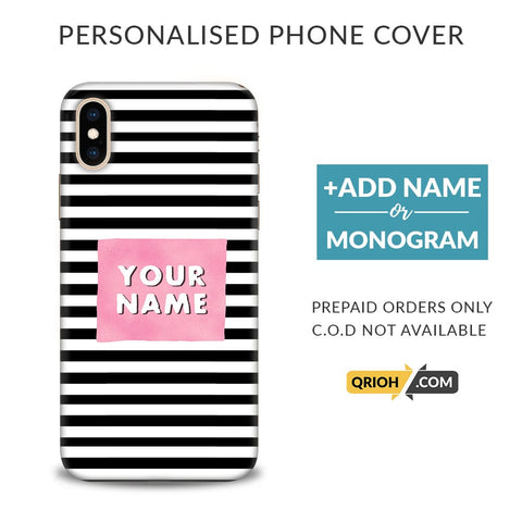 Stripes Custom Phone Cover - COD Not Available