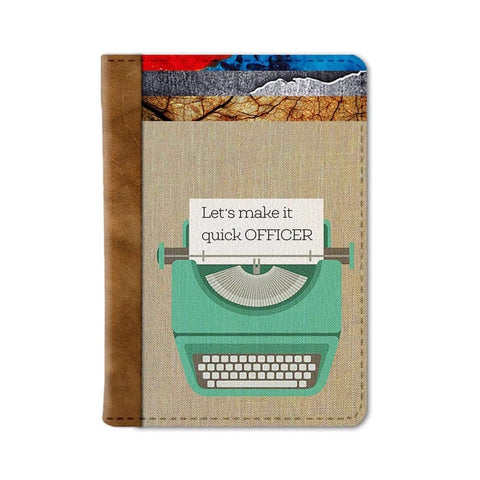 Chop Chop Passport Wallet