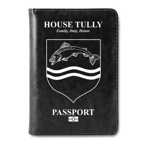Steel And Stone Passport Cover