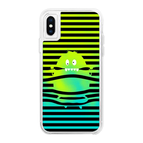 Sneak Peek Green Neon Sand Glow Case