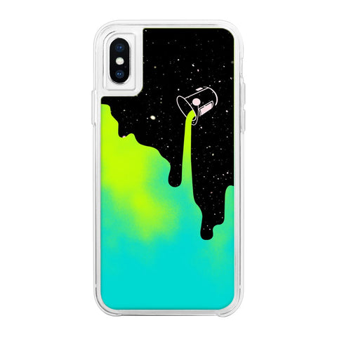 Paint Me Green Neon Sand Glow Case