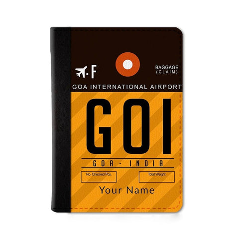 Goa Custom Passport Wallet
