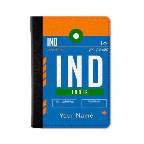 India Custom Passport Wallet