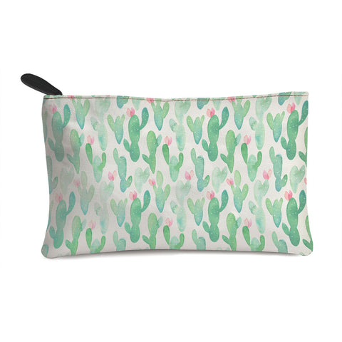 Blurred Cactus Multi Purpose Pouch