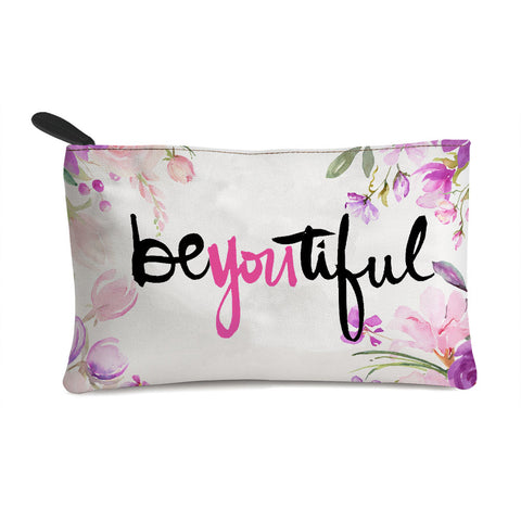 Beautiful Text Multi Purpose Pouch