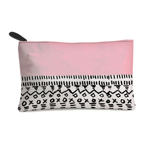 Pink pattern Multi Purpose Pouch