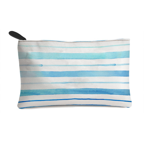 Blue Horizontal Multi Purpose Pouch