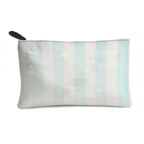 Sky Blue Stripes Multi Purpose Pouch