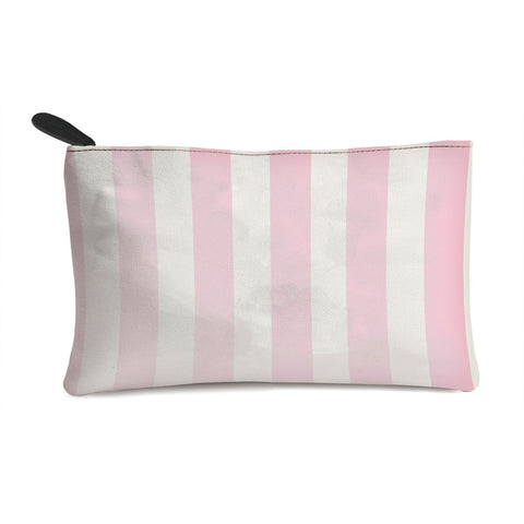 Pink Stripes Multi Purpose Pouch