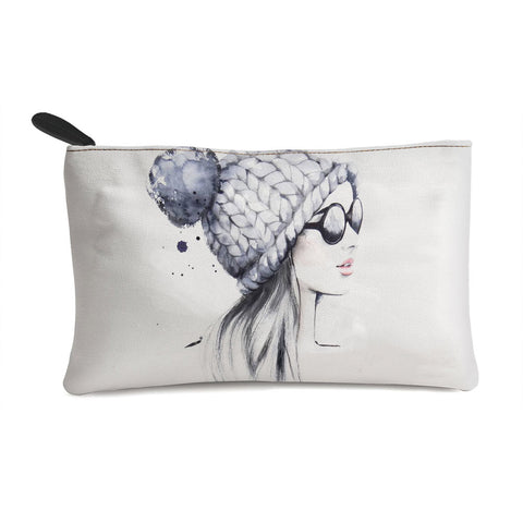 Sizzling Girl Multi Purpose Pouch