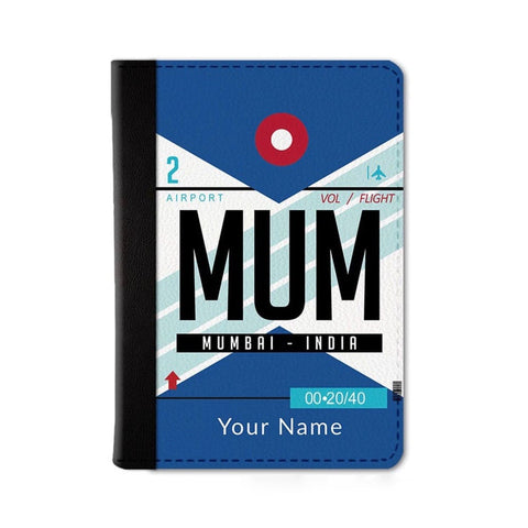 Mumbai Custom Passport Wallet