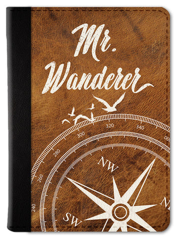 Mr. Wanderer Passport Wallet