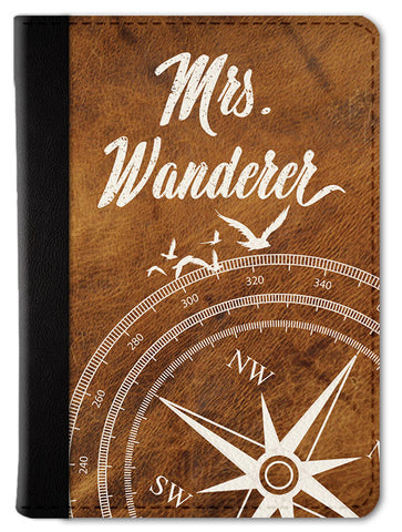 Mrs. Wanderer Passport Wallet