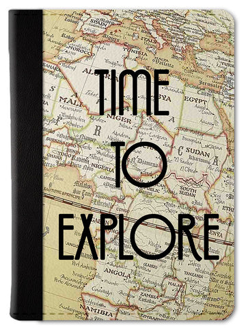 Time To Explore Passport Wallet