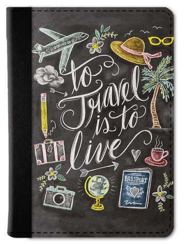 Travel Doodle Passport Wallet