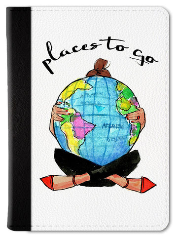 Places To Go Passport Wallet