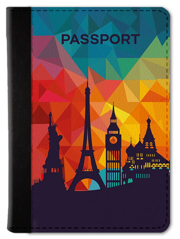 Wanderlust Prisma Passport Wallet
