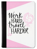 Travel Harder Passport Wallet
