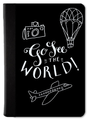 Go See the World Passport Wallet