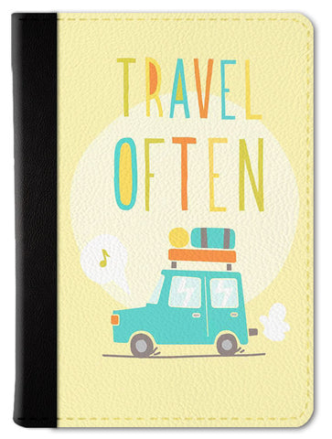 Travel Often Passport Wallet