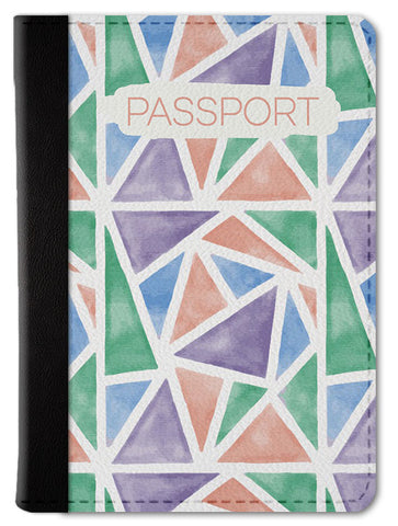 Geometric Passport Wallet
