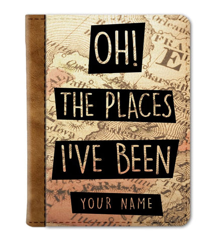 Places Custom Passport Cover