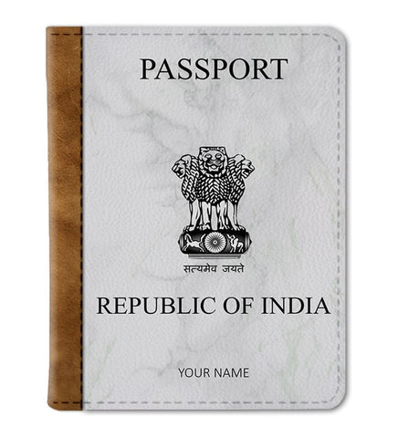 Custom India Passport Cover