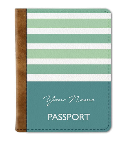 Stripes Custom Passport Cover