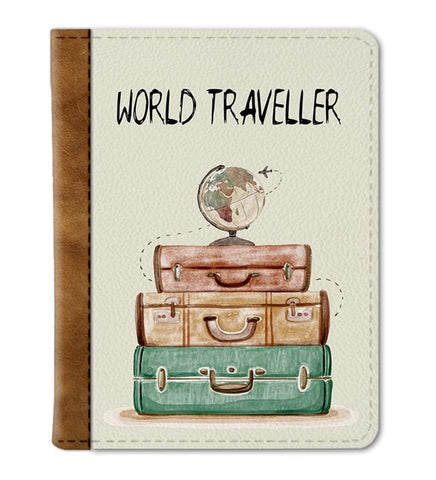 World Traveller Passport Cover