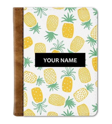 Custom Pineapple Passport Cover