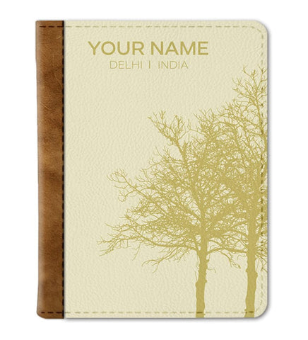 Custom Autumn Passport Cover