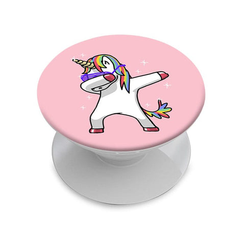 Dab Unicorn Phone Grip with Mount
