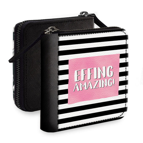 Feeling Amazing Square Wallet