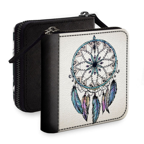 Dreamcatcher Design Square Wallet