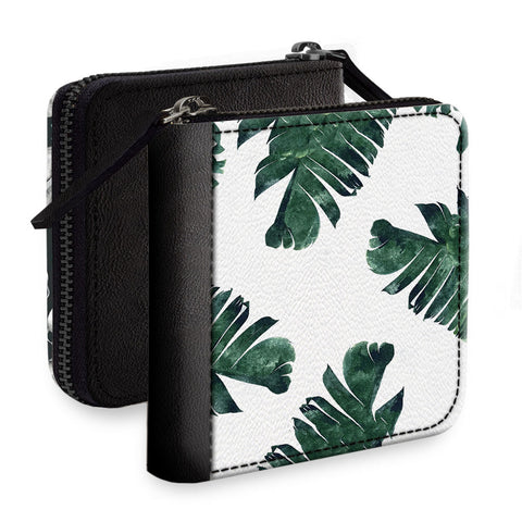 Palm Leaves Square Wallet