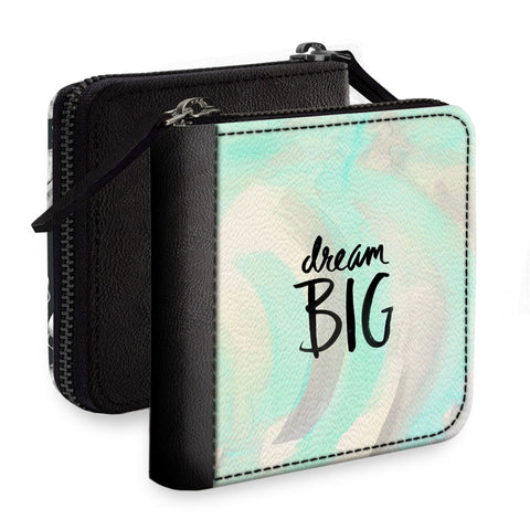 Dream Big Square Wallet