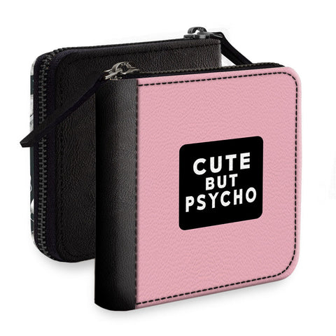 Cute But Psycho Square Wallet