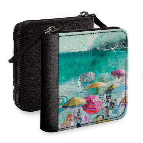 Wow Beach Square Wallet